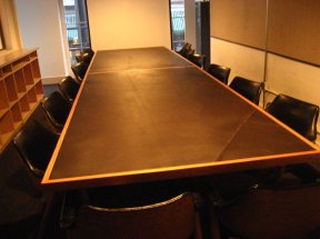conference table for the Ace Hotel