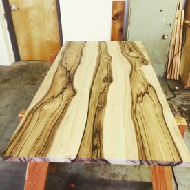 English walnut table top
