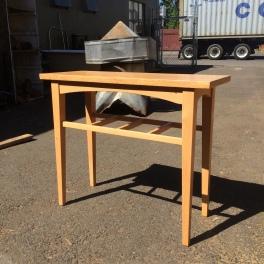 Side table. Doug fir