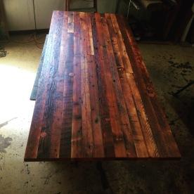 Doug fir table top. Ten footer.