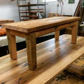 Doug fir bench