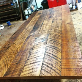 doug fir dining table top