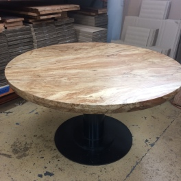 Spalted maple table top.