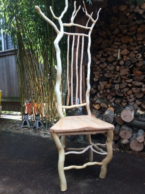 Another curly willow chair. Currently for sale at SITTE modern, Portland.
